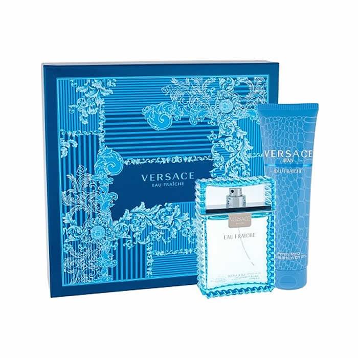 Versace Man Eau Fraiche Set EDT (100 ml) + SGE (150 ml)