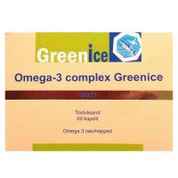Greenice Omega-3 complex kalaõlikapslid (60 tk)