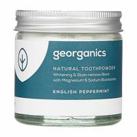 Georganics looduslik hambapulber, Metsiku inglise piparmündiga (60 ml)