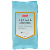 Purederm Make-Up Remover meigieemaldussalvrätikud, Collagen (30 tk)