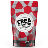ICONFIT CREA Shortcut Complex (Kreatiin, BCAA, Energia), Greibi (1 kg)