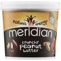 Meridian Foods maapähklivõi, Crunchy (1 kg)