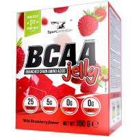 Sport Definition BCAA Jelly tarretise pulber, Metsmaasika (350 g)