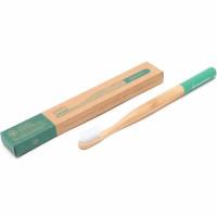 Georganics looduslik keskkonnasõbralik bambusest hambahari, Keskmise pehmusega harjased