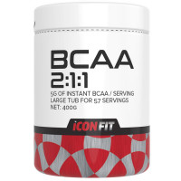 ICONFIT BCAA 2:1:1 Aminohapete Kompleks, Õuna (400 g)