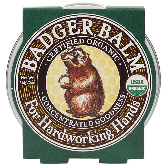 Badger Balm Hardworking Hands Balm sügavniisutav palsam karedatele kätele (21 g)