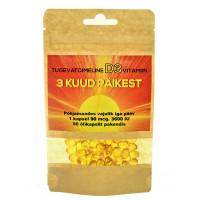 Vitamiin D3 3600 IU õlikapslid (300 tk)