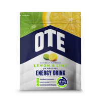 OTE Powdered Energy Drink spordijoogi pulber, Lemon-Lime (1.2 kg)