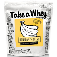 Take-a-Whey valgupulber, Bananas 'n Cream (750 g)
