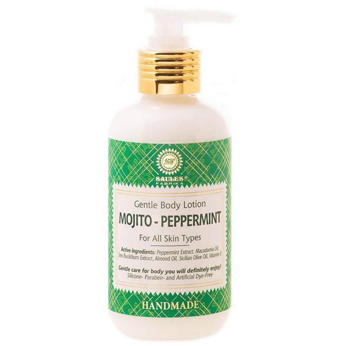 Saules Fabrika kehalosjoon, Mojito-Peppermint (200 ml)