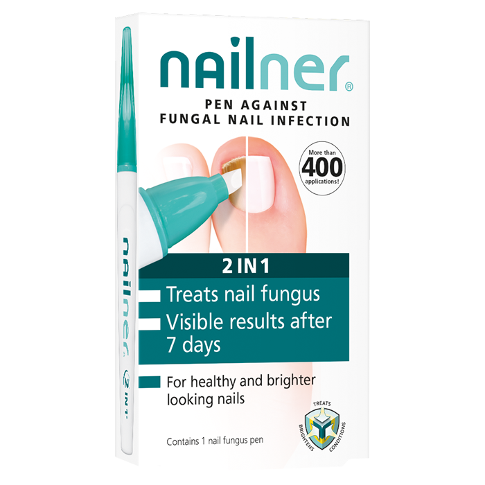 Nailner 2in1 küünepliiats