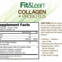 Fit&Lean Collagen&Probiotics