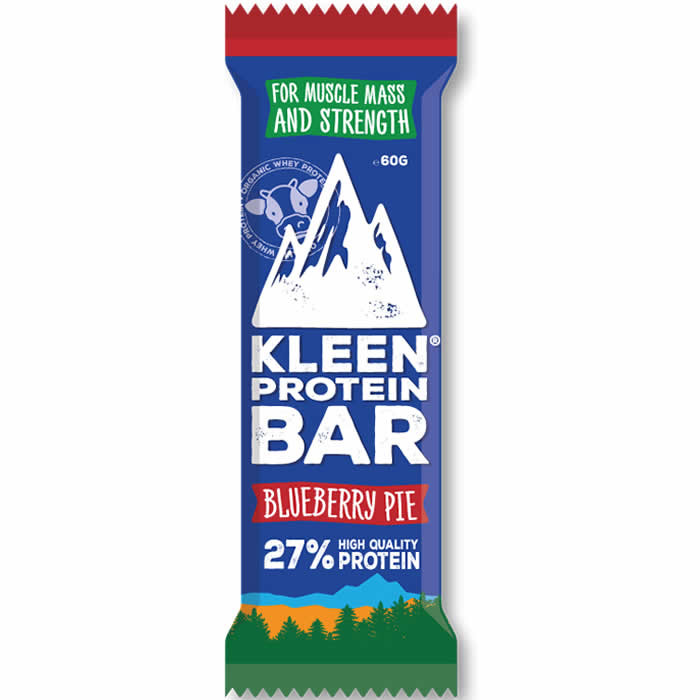 Kleen Whey Protein Bar proteiinibatoon, Blueberry Pie (60 g)