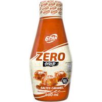 6PAK Syrup Zero, Soolakaramelli (400 ml)