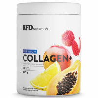 KFD Premium Collagen Plus, Raspberry and strawberry (400 g)