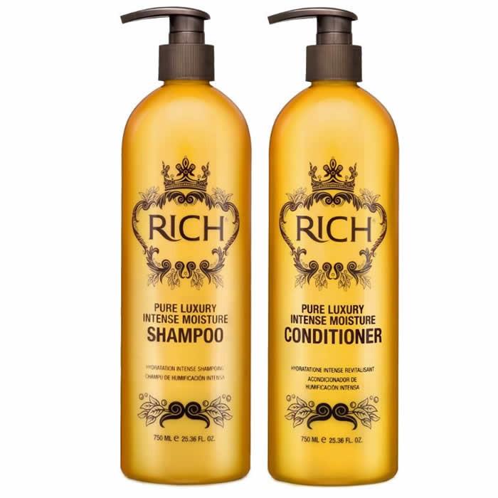 RICH Pure Luxury Intense Moisture Duo komplekt (2 x 750 ml)