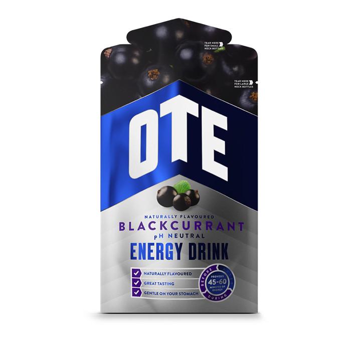 OTE Powdered Energy Drink spordijoogi pulber, Blackcurrant (43 g)