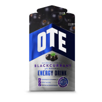 OTE Powdered Energy Drink spordijoogi pulber, Blackcurrant (43 g)