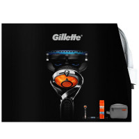 Gillette Fusion Proglide Flexball Cartridge + Gift Travel Bag komplekt