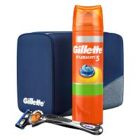 Gillette Fusion Proglide Flexball komplekt (Raseerija teraga + Geel 200 ml + kott)