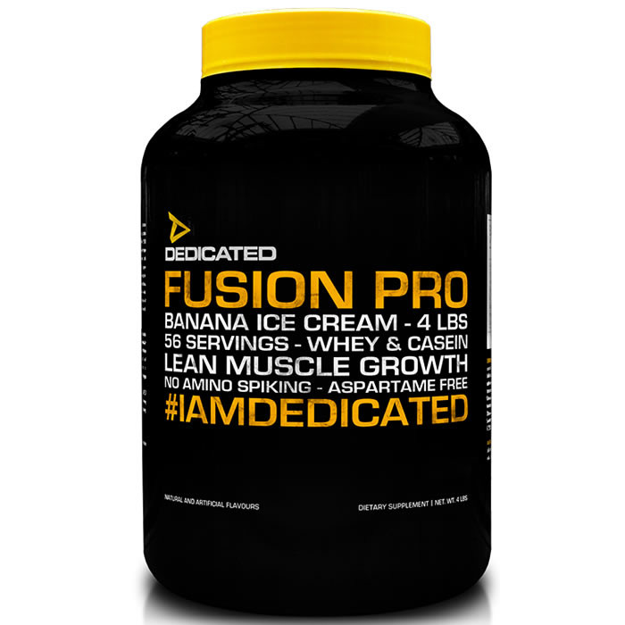 Dedicated Nutrition Fusion Pro valgupulber, Yoghurt Maple and Walnut (1800 g/56 serv)