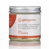 Georganics looduslik remineraliseeriv hambapasta kookosõli baasil, Punase mandariiniga (60 ml)
