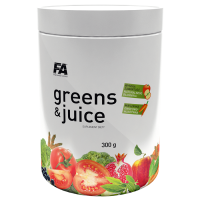 Fitness Authority Wellness Line Greens & Juice, Sidruni (300 g)