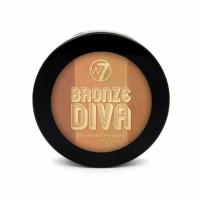 W7 Bronze Divas Bronzing Powder päikesepuuder, Sun Baby (14 g)
