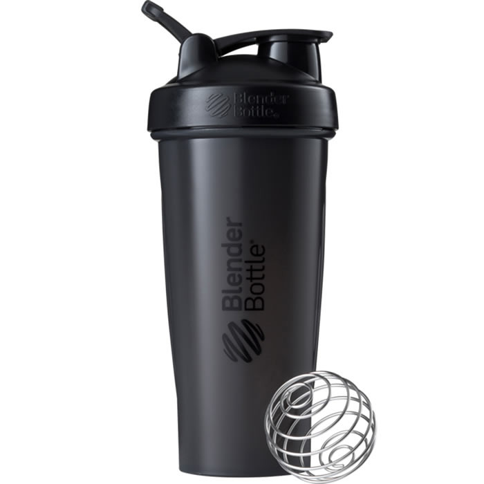 BlenderBottle Classic Loop šeiker, Black (820 ml)