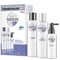 Nioxin 5 juuksehoolduskomplekt (150 ml + 150 ml + 50 ml)