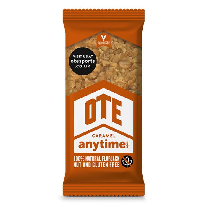 OTE Anytime gluteeni-ja pähklivaba taimne valgubatoon, Caramel (55 g). Parim enne 26.08.2020