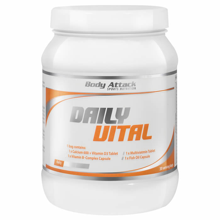 Body Attack Daily Vital (30 serveeringut)
