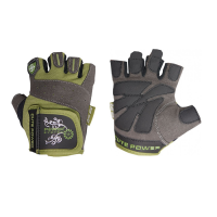 Power System Gloves Cute Power treeningkindad, Khaki (M)
