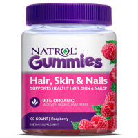 Natrol Hair, Skin and Nails Gummy närimisvitamiinid (90 tk)
