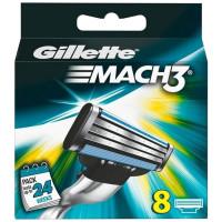 Gillette Mach3 lisaterad (8 tk)