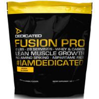 Dedicated Nutrition Fusion Pro valgupulber, Banana Ice Cream (908 g) + KINGITUS Powder Container