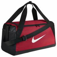 Nike Brasilia Small Duffel Bag BA5335 spordikott, Must/punane (S)