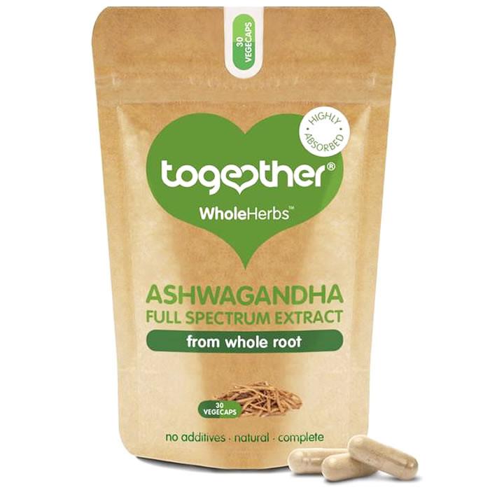 Together Health WholeHerbs™ Ashwagandha kapslid (30 tk)