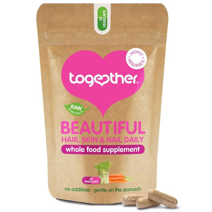 Together Health Beautiful Hair, Skin and Nail Daily kapslid (60 tk)