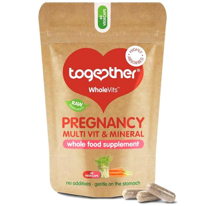 Together Health WholeVits™ Pregnancy Multi Vit & Mins kapslid (30 tk)
