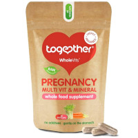 Together Health WholeVits™ Pregnancy Multi Vit & Mins kapslid (30 tk)