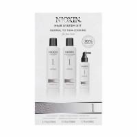 Nioxin 1 juuksehoolduskomplekt (150 ml + 150 ml + 50 ml)