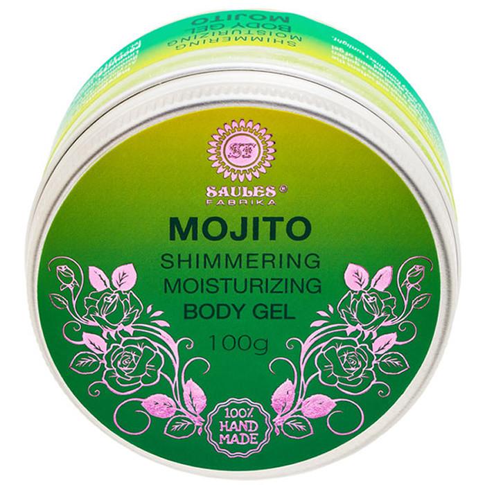 Saules Fabrika sädelusega niisutav kehageel, Mojito (100 g)