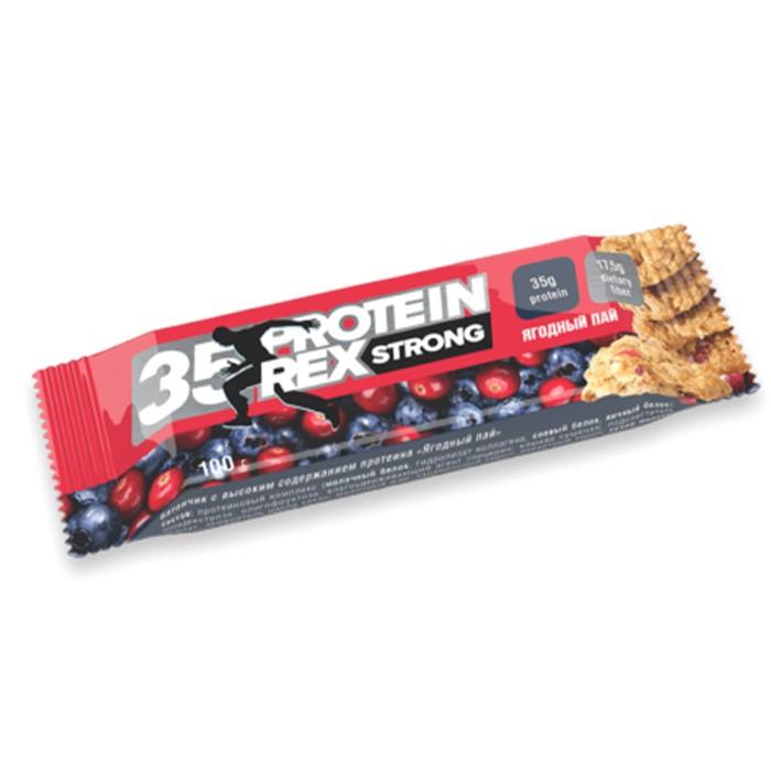 Protein Rex valgubatoon, Berry pie (100 g)
