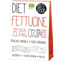Diet Food Bio Organic Konjac Pasta Shirataki mahe nuudlid, Fettucine (300 g)