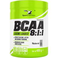 Sport Definition BCAA 8:1:1, Maitsestamata (400 g). Parim enne 06.2019
