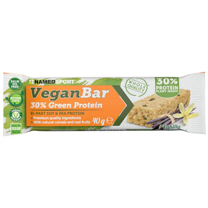 NamedSport Vegan Protein Bar valgubatoon, Vanilla Flavor (40 g). Parim enne 30.03.2019
