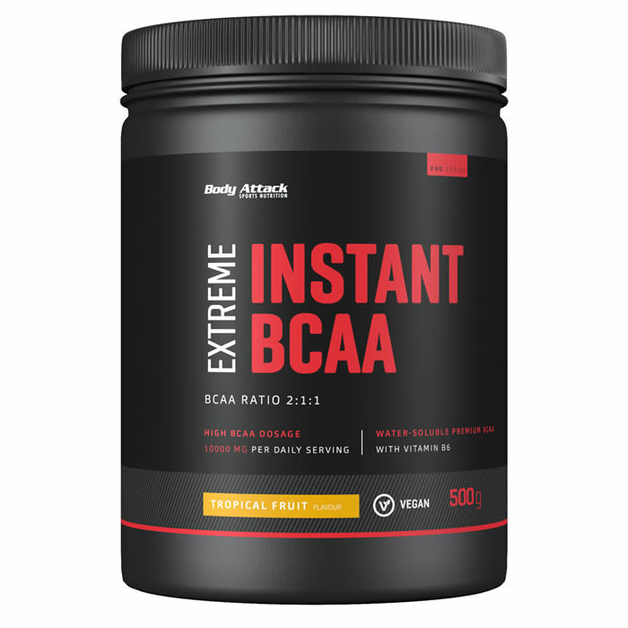 Body Attack Instant BCAA Extreme, Tropical (500 g)