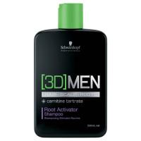 Schwarzkopf 3DMEN Root Activator šampoon (250 ml)