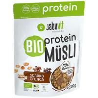 JabuVit Bio Protein Muesli proteiinimüsli, Krõbe šokolaadi (500 g)